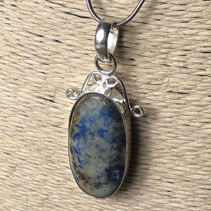 Sodalite Vintage Style Boho Necklace